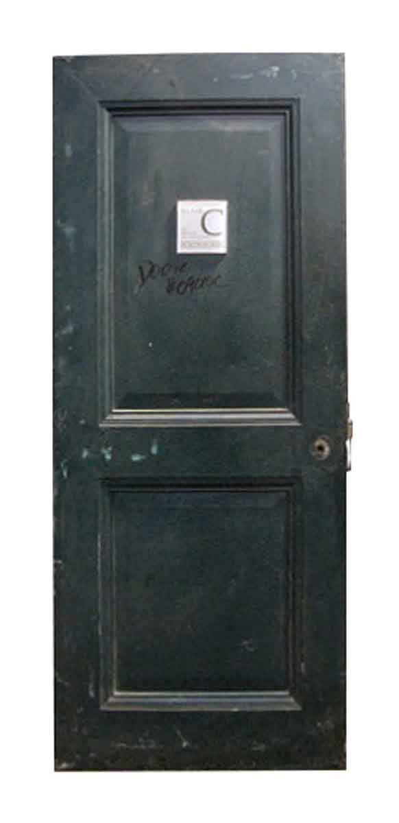 Reclaimed Metal Two Panel Fire Door - Commercial Doors
