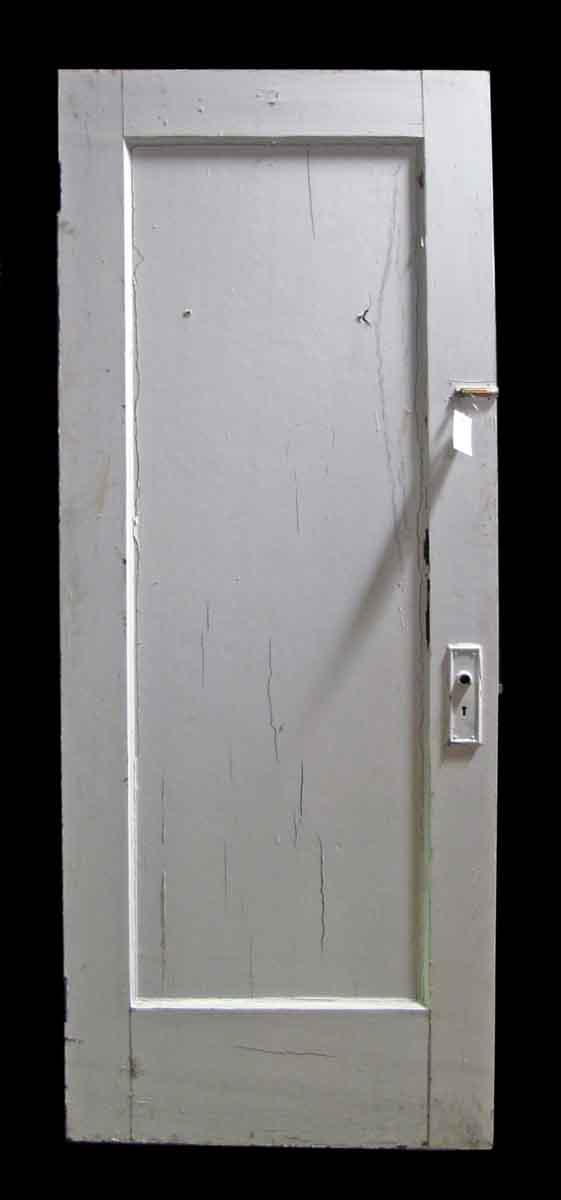 Reclaimed Single Panel Painted Pine Door - Standard Doors