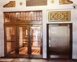 Salvaged Bronze Lobby Doors from Park Ave. Building & Architectural Salvage Doors Vintage \u0026 Antique Doors | Olde Good ...