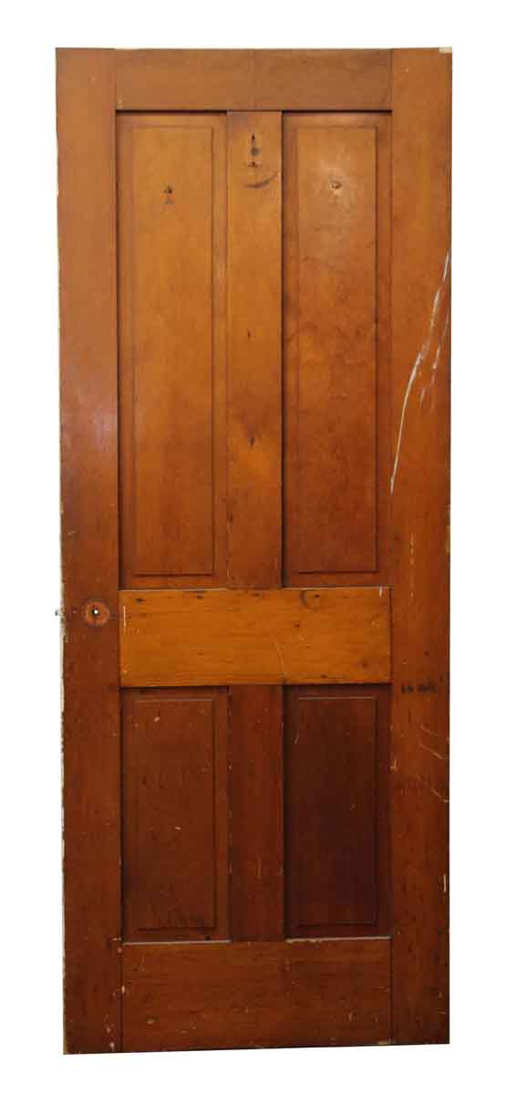 Antique Simple Pine Wood Farm House Door - Standard Doors