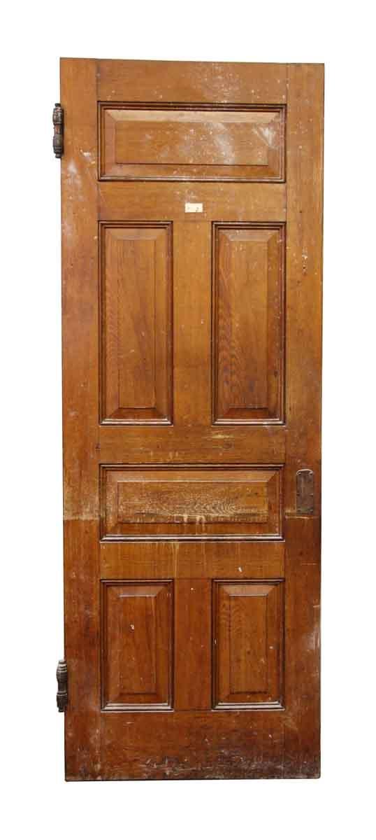Raised Panel Pine Wood Door - Standard Doors