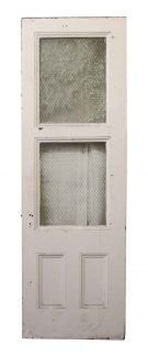 Tall Door with Two Chicken Wire Glass Panels  sc 1 st  Olde Good Things & Architectural Salvage Doors Vintage u0026 Antique Doors | Olde Good ... pezcame.com