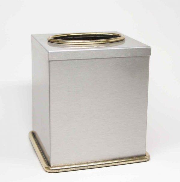 Vintage Steel Tissue Box Cover - Bathroom