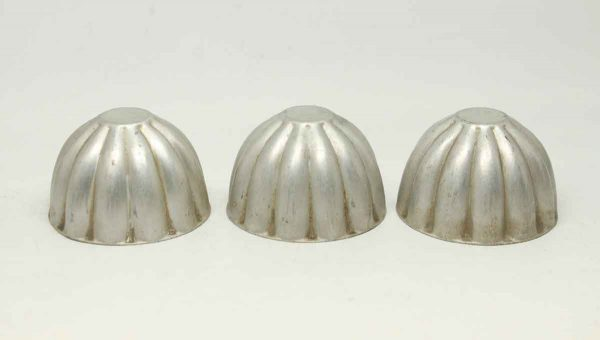 Vintage Set of Three Aluminum Bolt Covers - Other Hardware