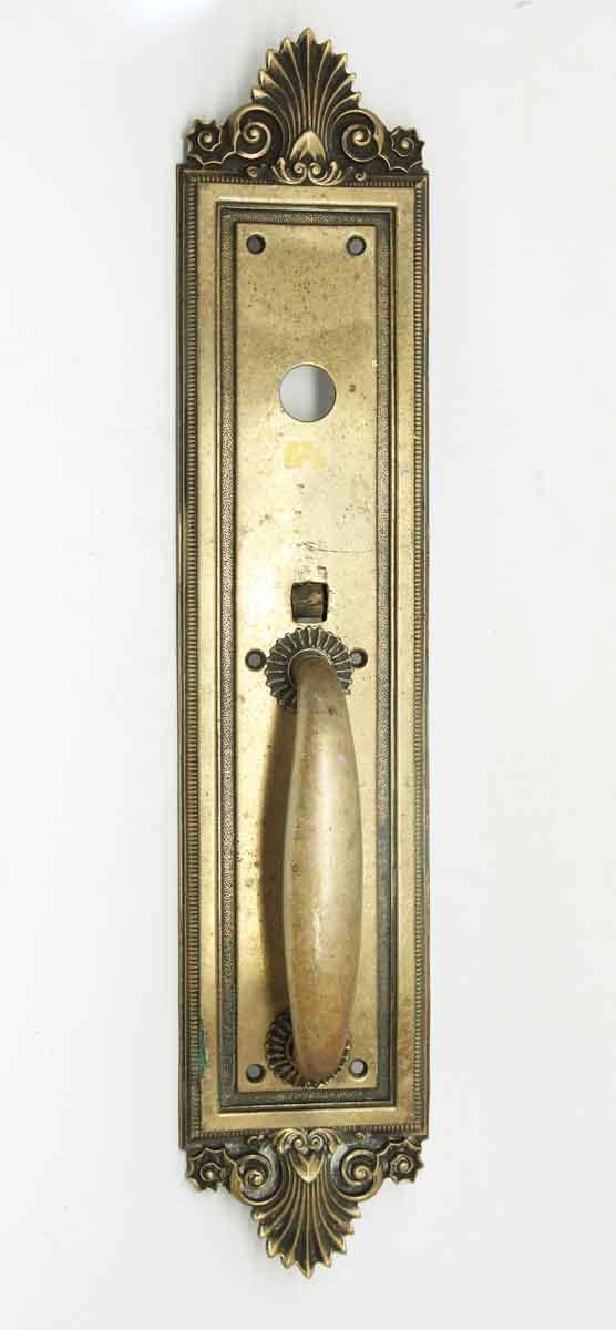Antique Bronze Neo Classical Door Pull by Sargent - Door Pulls