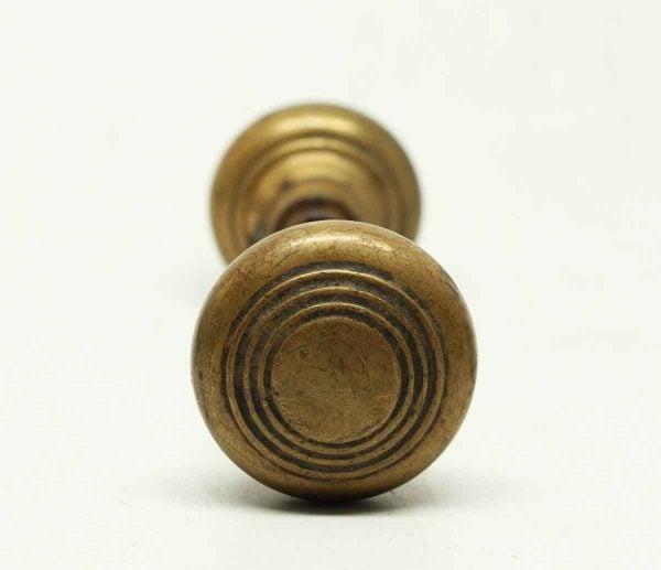 Antique Concentric Brass Knob Set - Door Knobs