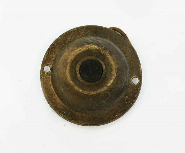 Antique Brass Door Bell with Button - Knockers & Door Bells