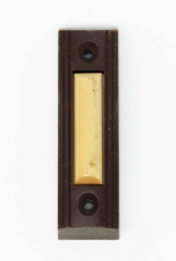 Vintage Brown Bakelite Doorbell - Knockers & Door Bells