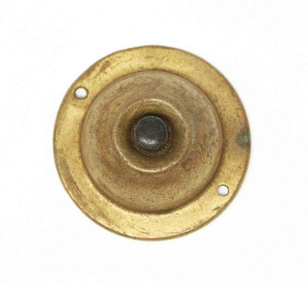 Reclaimed Brass Cover Doorbell - Knockers & Door Bells