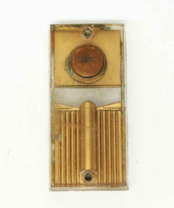 Vintage Tan Plastic Doorbell - Knockers & Door Bells