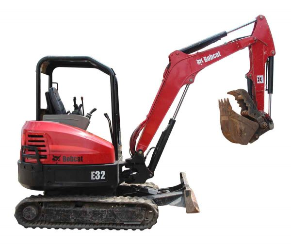 2011 Bobcat E32 Mini Excavator - Machinery