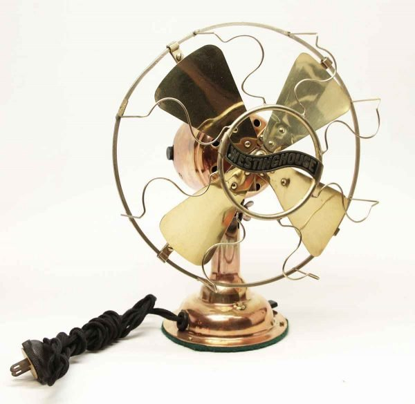 Antique Brass Westinghouse Fan - Fans