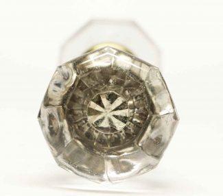 vintage glass bullet knob set