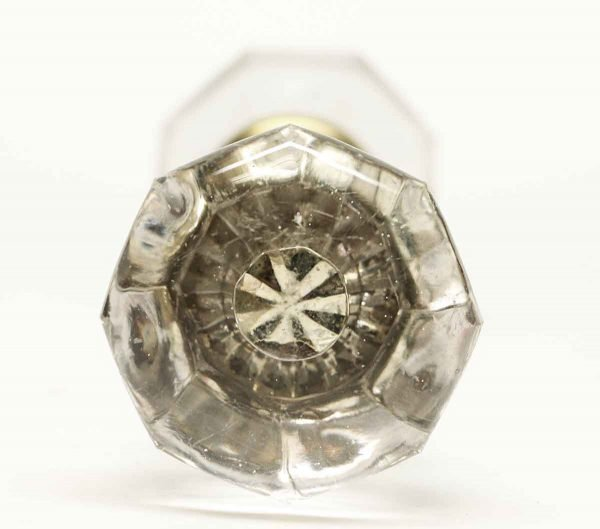 Vintage Glass Bullet Knob Set - Door Knobs