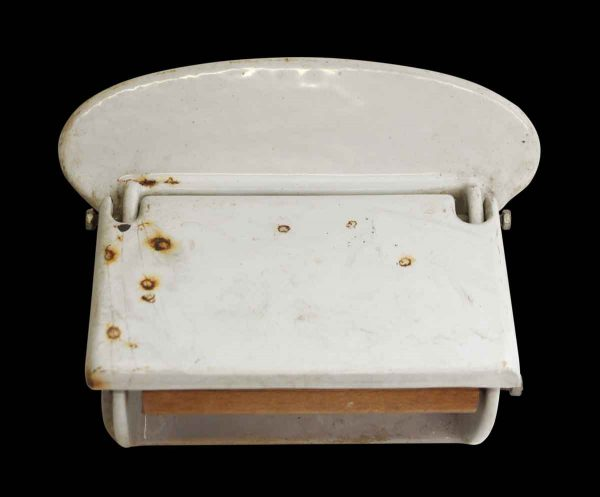 Imported Vintage Porcelain Toilet Paper Holder - Bathroom