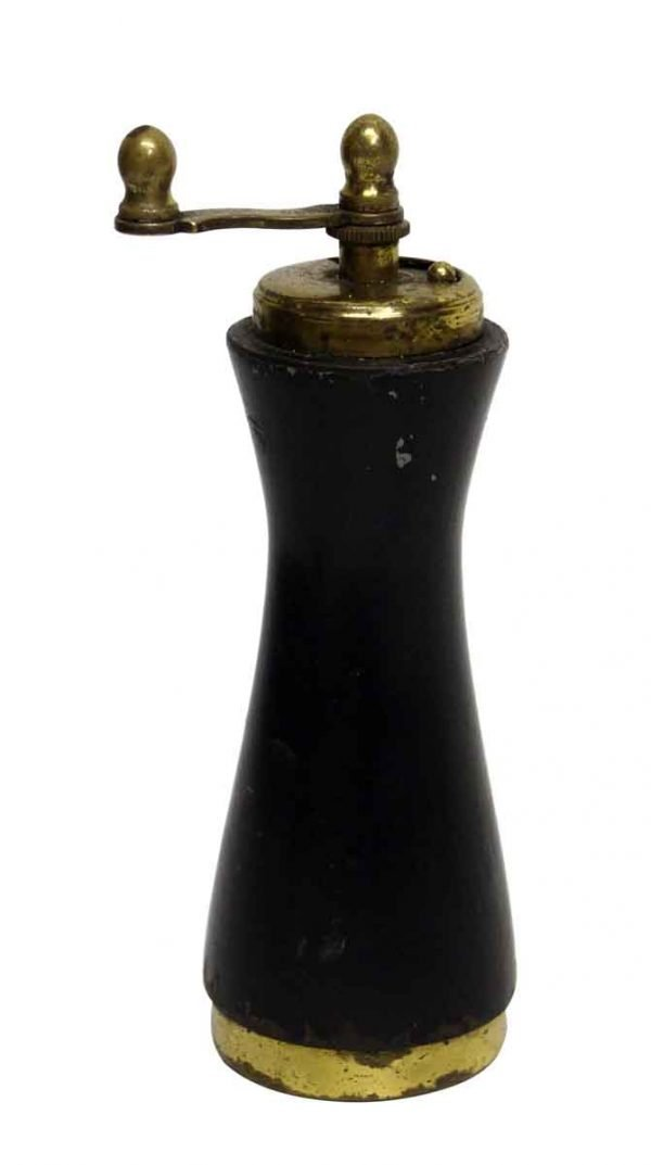 Vintage Italian Black Pepper Mill - Kitchen