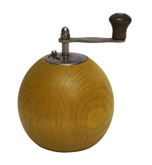 Italian Wooden Pepper Mill Sphere - Kitchen