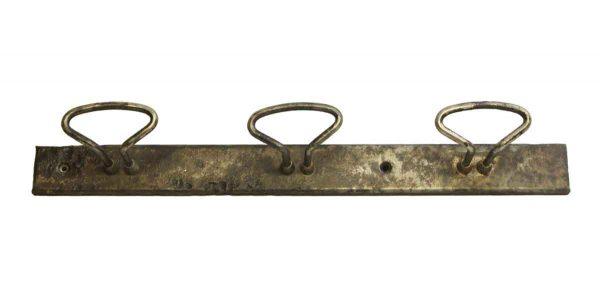 Industrial Steel Three Hook Rack - Racks