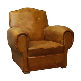 Furniture Living Room New Arrivals 265000 Single Brown French Studded Back Club Chair