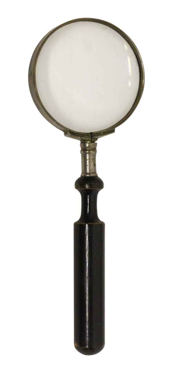 Imported Magnifying Glass with Wooden Handle - Tools