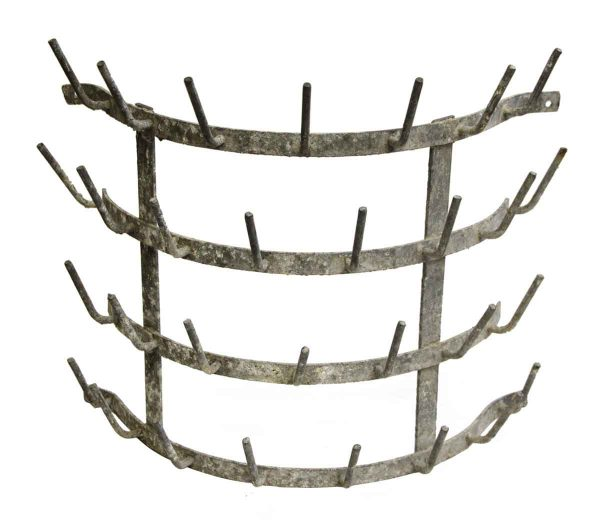 Single Vintage Steel Hedgehog Rack - Racks