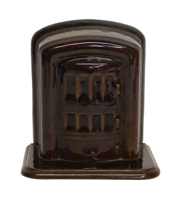 Vintage Brown Coin Savings Bank - Cash Registers
