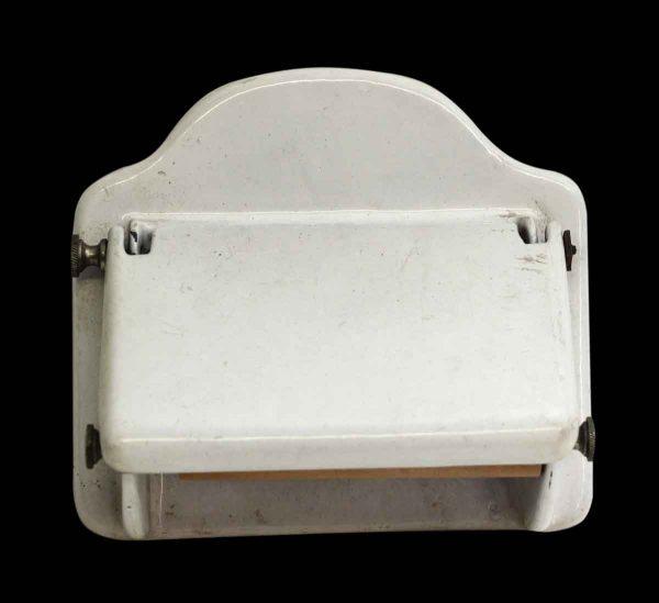 Vintage White Toilet Paper Holder - Bathroom
