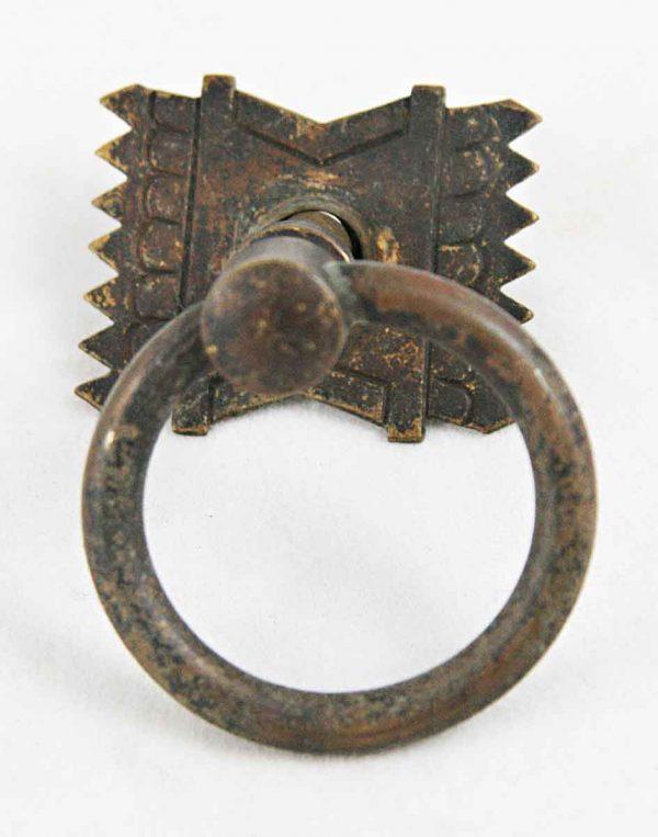 Craftsman Brass Ring Drawer Pull - Cabinet & Furniture Pulls