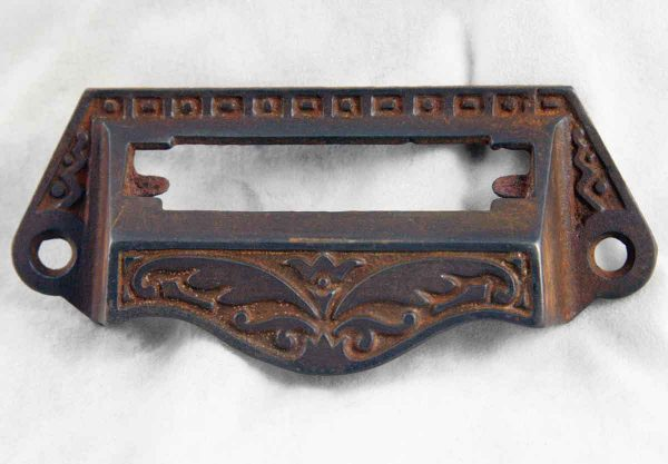 Original Cast Iron Drawer Pull with Slot - Cabinet & Furniture Pulls