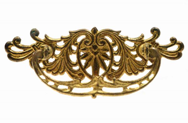 Ornate Bronze Drawer Pull - Cabinet & Furniture Pulls