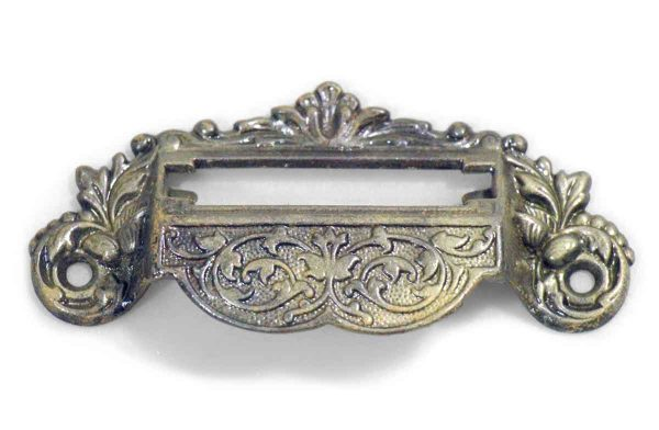 Antique Ornate Drawer Apothecary Pull - Cabinet & Furniture Pulls