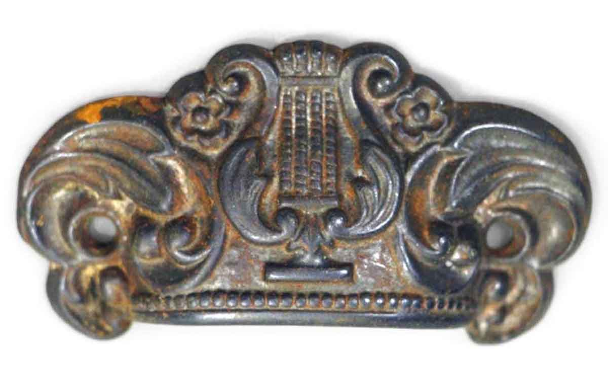 Antique Harp Cast Iron Drawer Pull Olde Good Things