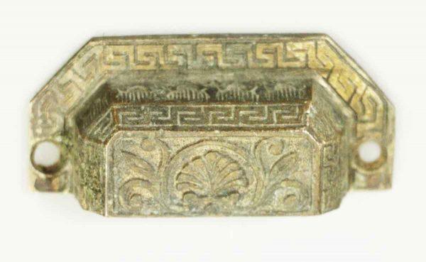 Victorian Ornate Bronze Bin Pull - Cabinet & Furniture Pulls