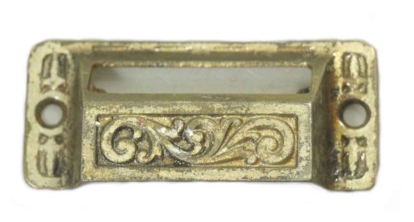 Antique Cast Iron Apothecary Drawer Pull - Cabinet & Furniture Pulls