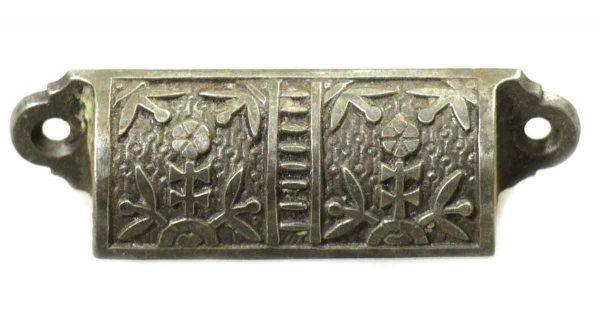 Antique Cast Iron Aesthetic Bin Pull - Cabinet & Furniture Pulls