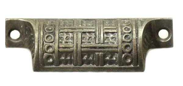 Cast Iron Vernacular Bin Pull - Cabinet & Furniture Pulls
