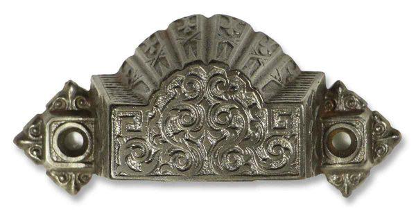 Antique Ornate Bin Pull - Cabinet & Furniture Pulls