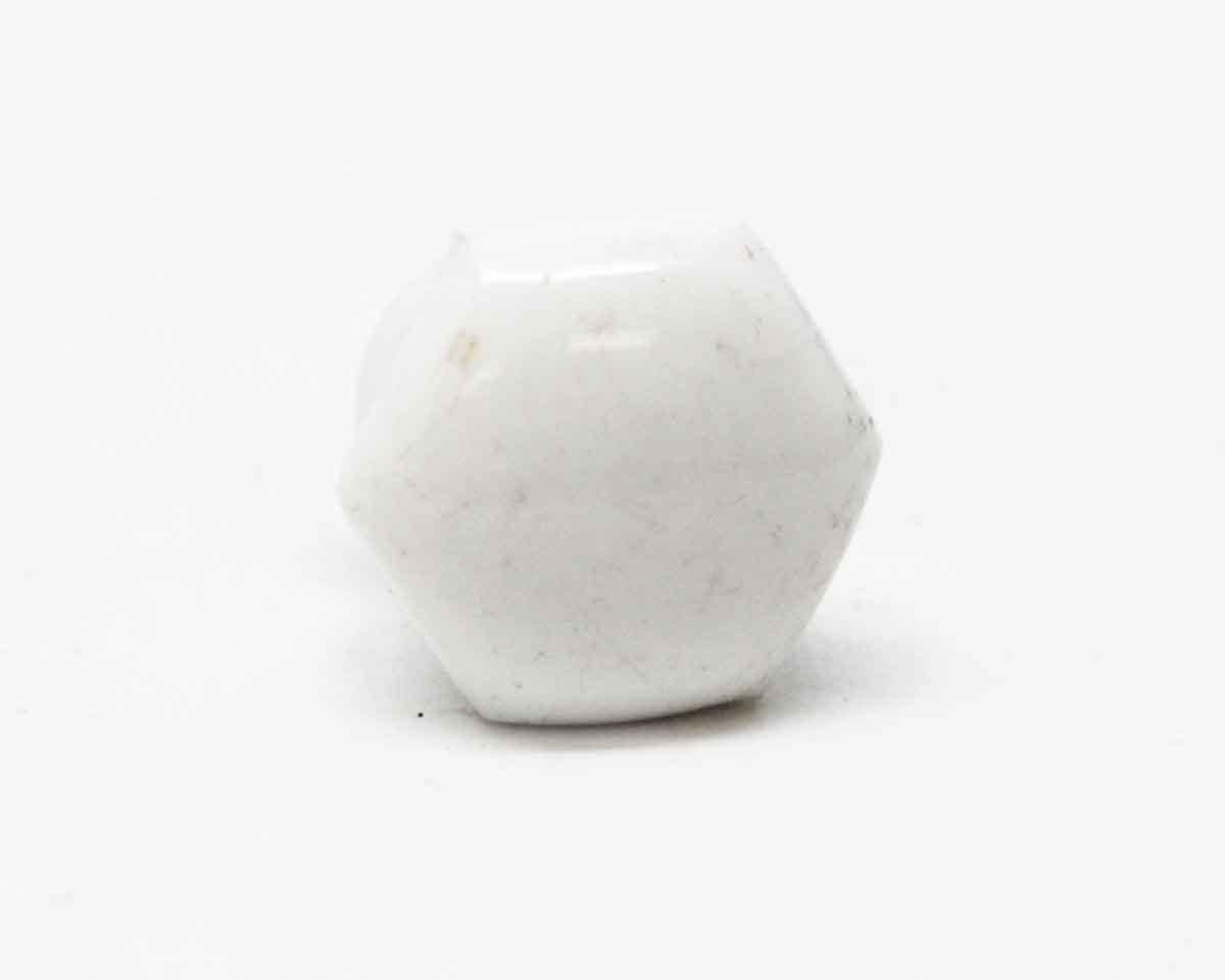 Vintage White Milk Glass Knob