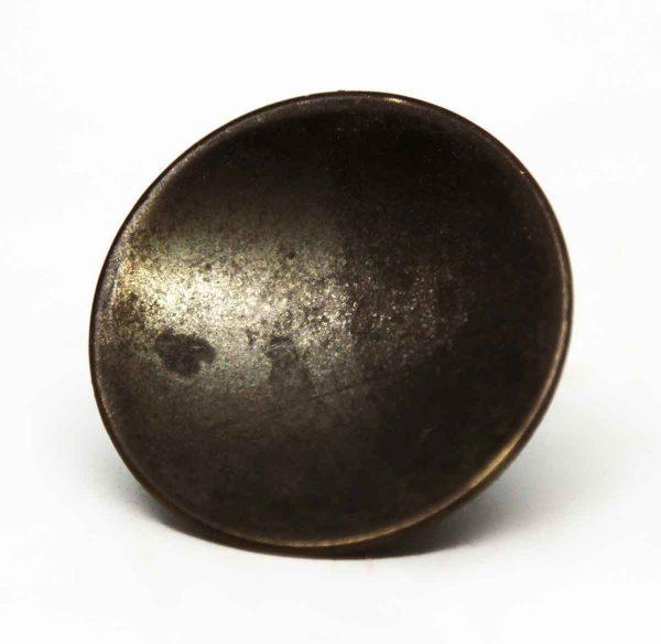 Modern Round Antique Brass Knob - Cabinet & Furniture Knobs