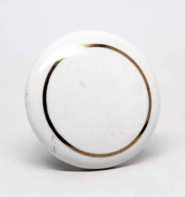 Classic White Porcelain Drawer Knob - Cabinet & Furniture Knobs