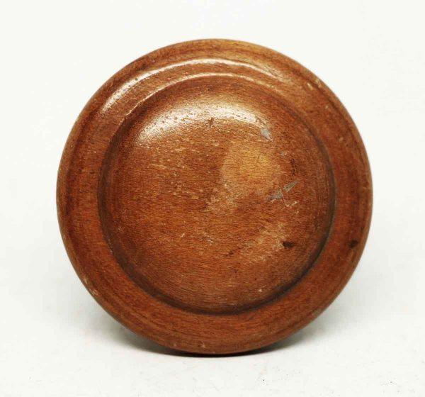 Vintage Round Concentric Wooden Knob - Cabinet & Furniture Knobs