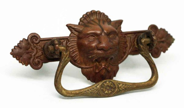 Victorian Lion Head Pull - Cabinet & Furniture Pulls