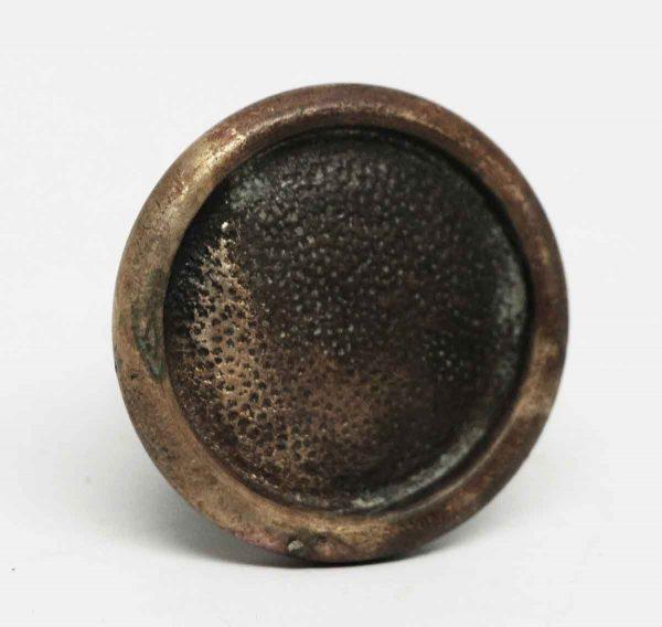Vintage Round Textured Bronze Knob - Cabinet & Furniture Knobs