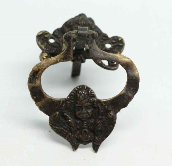 Victorian Bronze Cherubic Drop Pull - Cabinet & Furniture Pulls