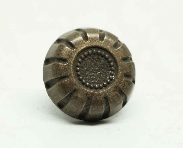 Cast Iron Beaded Drawer Knob - Cabinet & Furniture Knobs