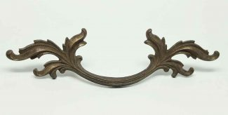 antique french provincial drawer pull