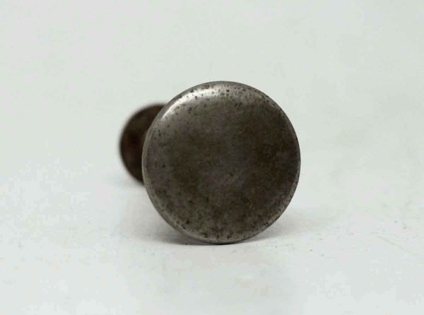 Antique Round Nickel Small Knob - Cabinet & Furniture Knobs