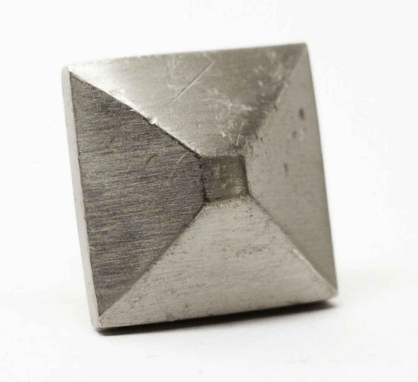 Modern Square Brushed Nickel Drawer Knob - Cabinet & Furniture Knobs
