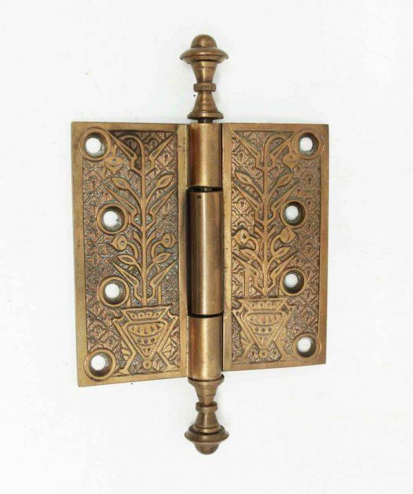 Aesthetic Bronze Hinge with Steeple Tips - Door Hinges