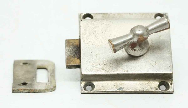 Nickel Plated Cabinet Latch - Cabinet & Furniture Latches